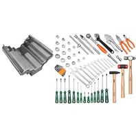 65 pcs stainless steel tool box