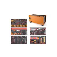 Caixa para Ferramentas Pickup Box 500x1000x500 mm - 145 Peças Tramontina PRO