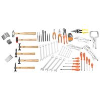 63 Pieces Finishing/Weldering Tool Set