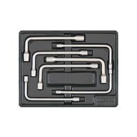 7 Pieces Hollow Offset Pipe Wrenches Module - Inches