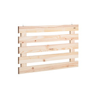 Tramontina solid wood wall planter