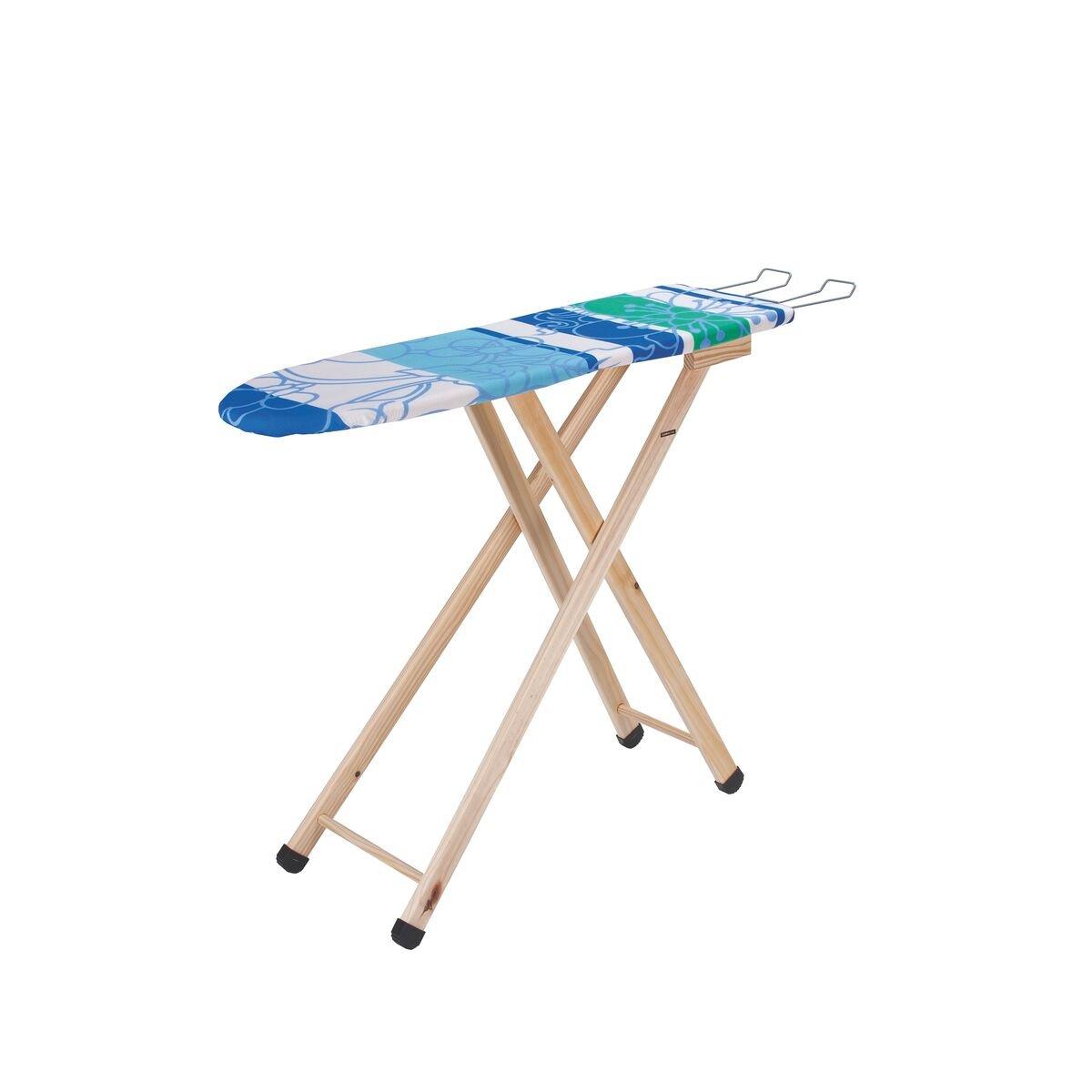 Mesa de Planchar Tramontina Modelo Compact con Forro y Soporte para Plancha
