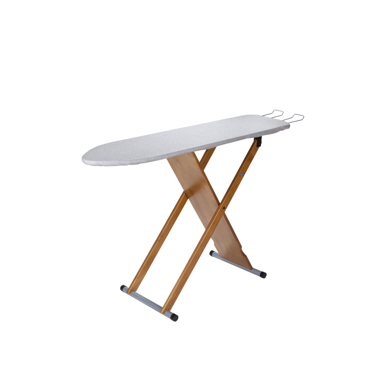 Tramontina Top Wood Frame Ironing Board With Varnish Finish Heat Resistant Cover Iron Rest And Epoxy Painted Metal Accessories Tramontina