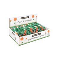 Kit para jardín con 24 kits de 3 piezas, en plástico, embalaje display