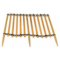 1 m Garden fence, slotted conposition