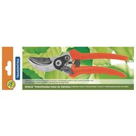 Professional bypass pruner, with flowers holder, interchangeable blades