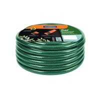 Flex garden hose, 15 m, thread connectors and sprayer