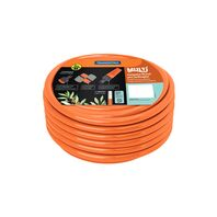 "1/2"" Garden hose, 30 m, quick connectors and sprayer"