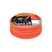 No Torsion System NTS® garden hose, 25 m, quick connectors and sprayer