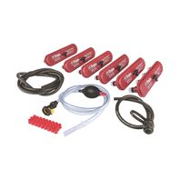 Battery watering kit for 8 V electric vehicle batteries