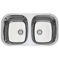 Cubeta de empotrar en acero inoxidable alto brillo 72x40 cm