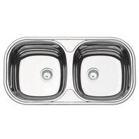 Mirror polishing stainless steel bowl 78x40 cm