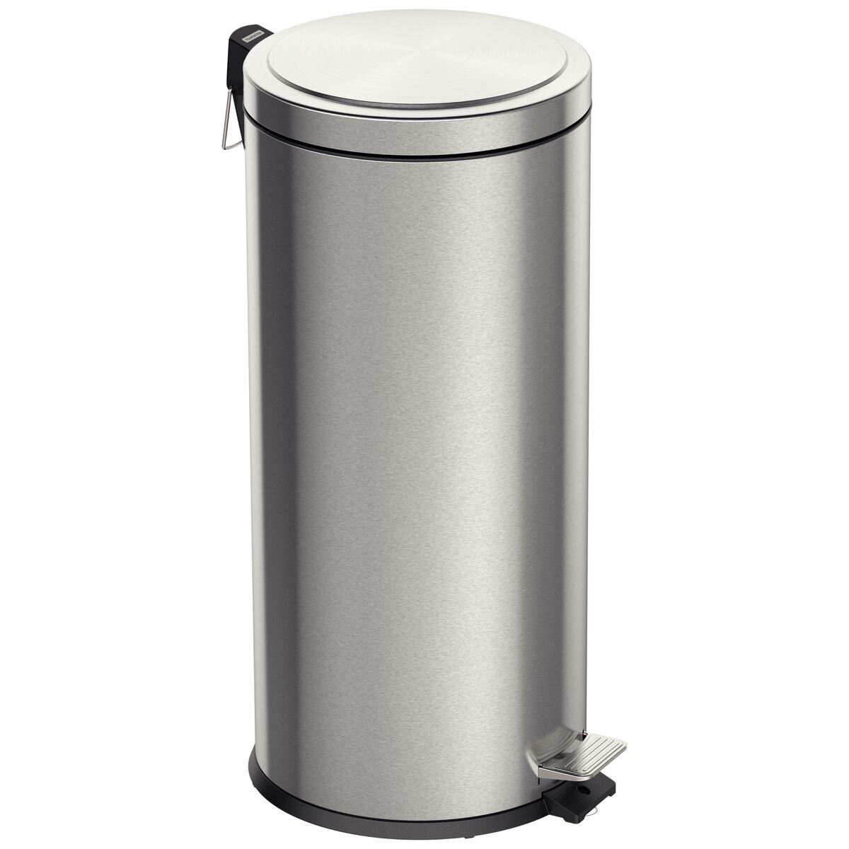 Pedal trash bin scotch brite finishing 30 liters