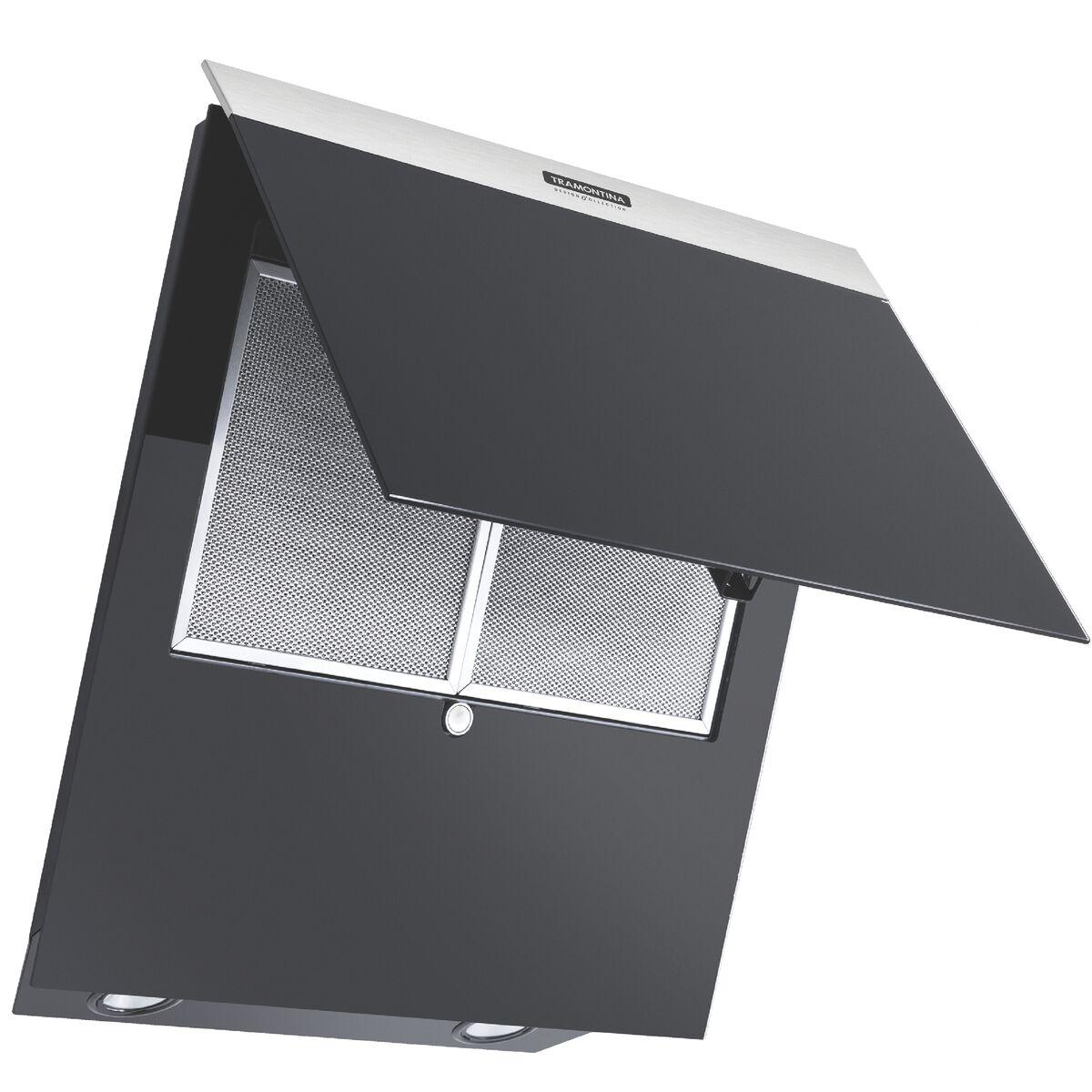 Tramontina - Campana de pared de 55 cm en acero inoxidable + vidrio ...