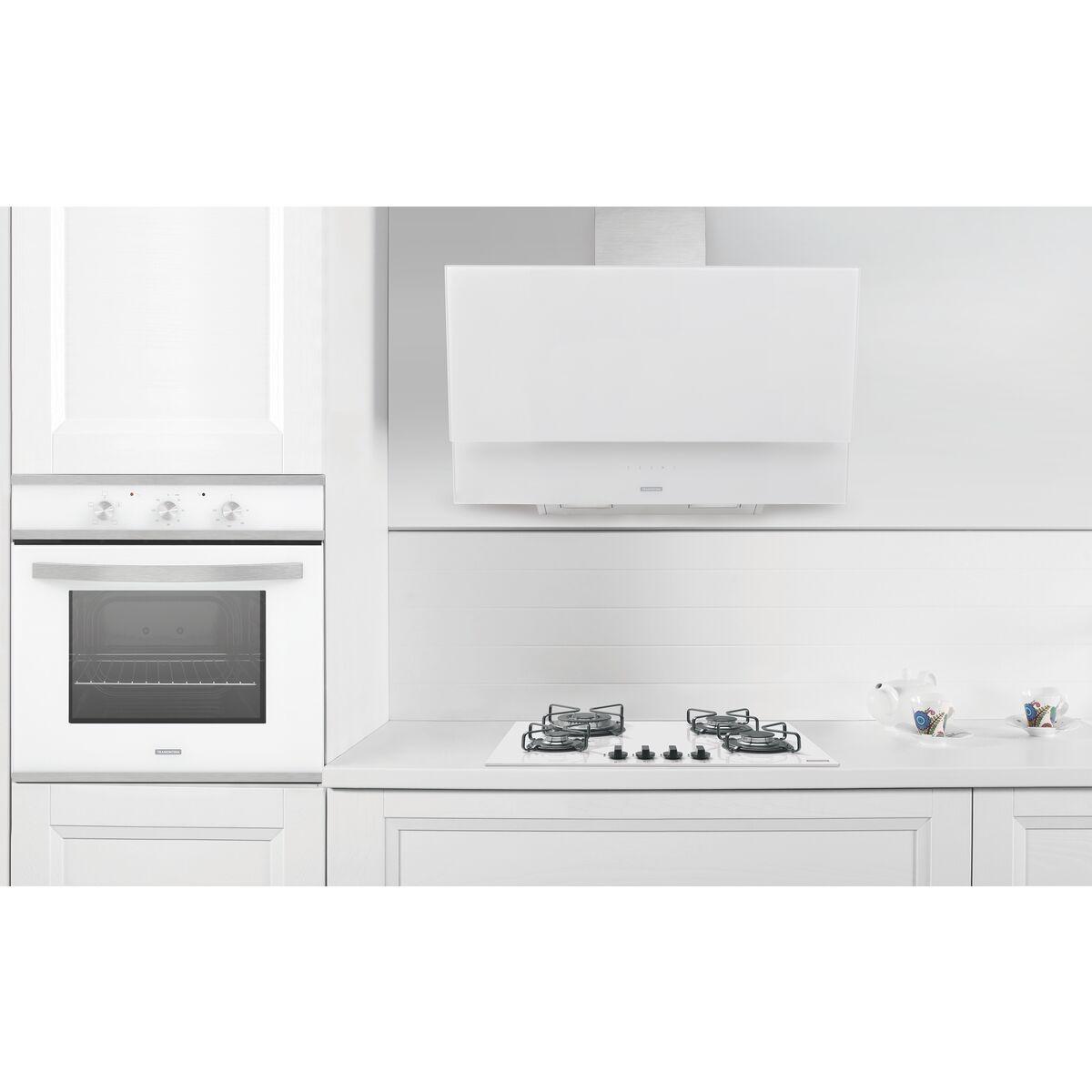 Tramontina Campana De Pared 90 Cm En Acero Inoxidable Vidrio  ~ Campanas De Cocina Sin Salida Al Exterior