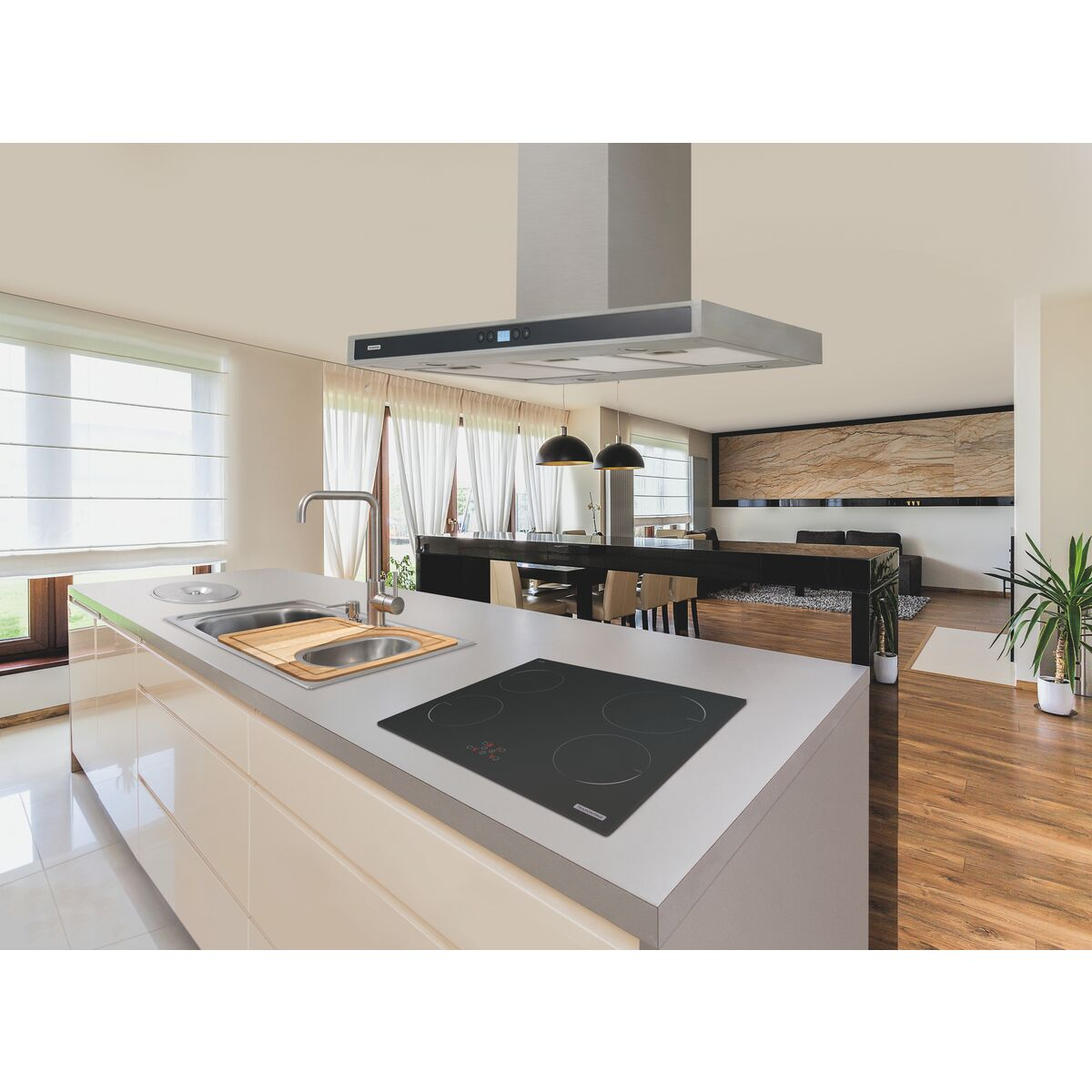 Cozinhas De Luxo Com Ilha Cozinha Com Ilha Bela Cozinha Em Uma